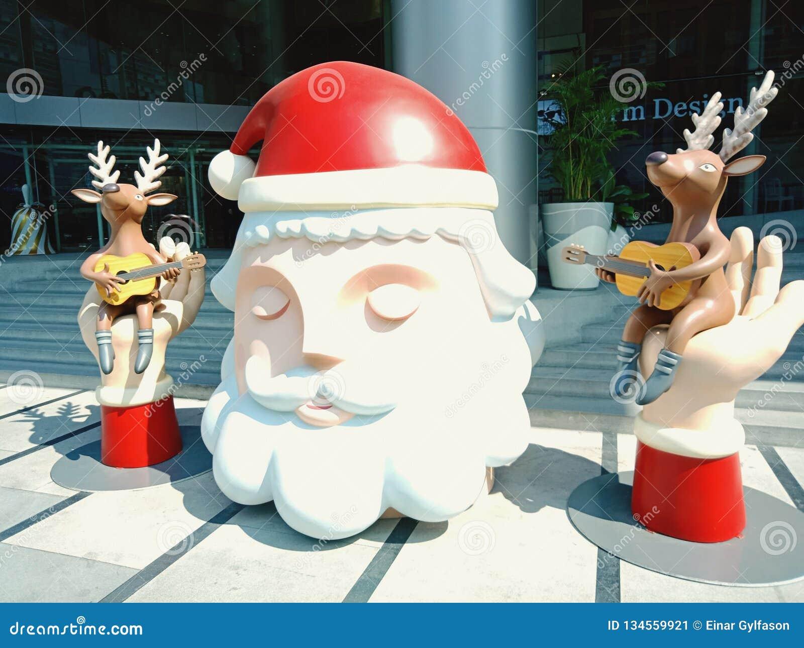 Weihnachten in einem Bangkok-Mall