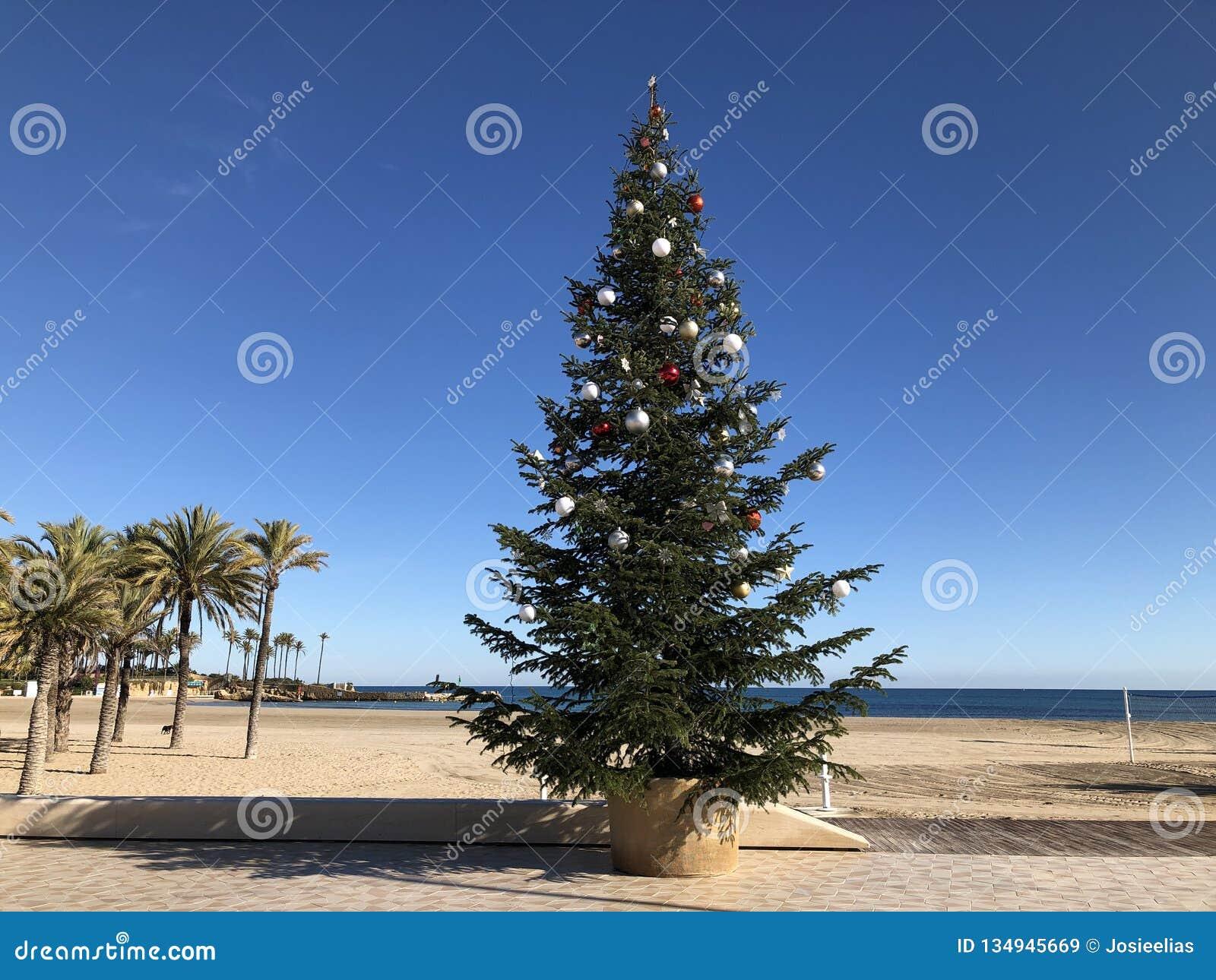 Weihnachten in einem heißen Mittelmeerklima