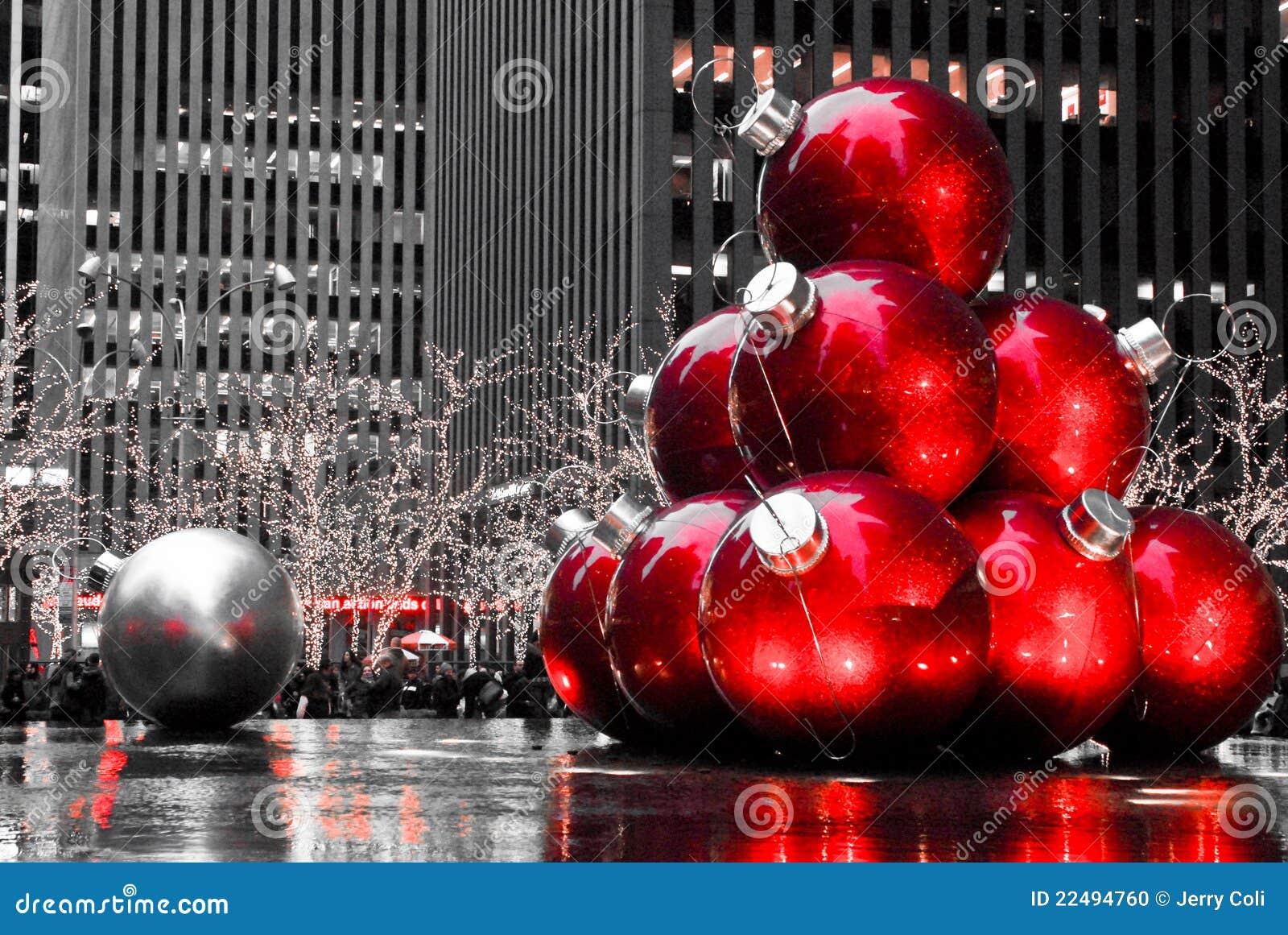 Weihnachten In Manhattan, NYC Redaktionelles Bild - Bild von ...