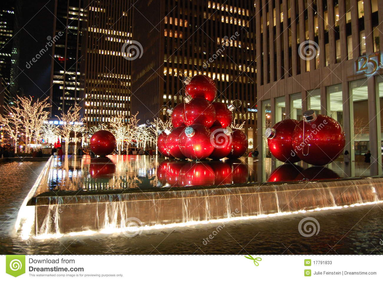 Weihnachten In New York City Redaktionelles Stockfoto - Bild von ...