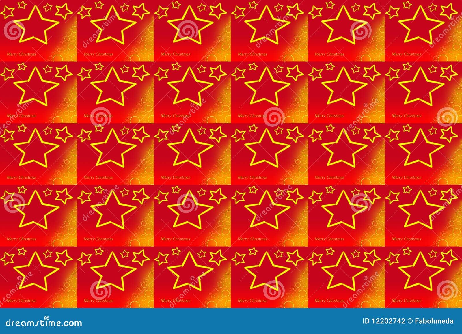 Weihnachten Pattern_Red