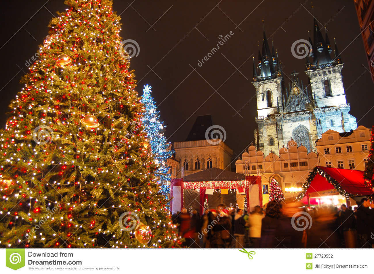 weihnachten in prag stockfotografie bild 27723552. Black Bedroom Furniture Sets. Home Design Ideas