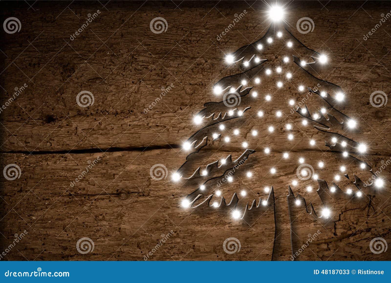 Weihnachten rustikal stockbild. Bild von grunge, text - 48187033