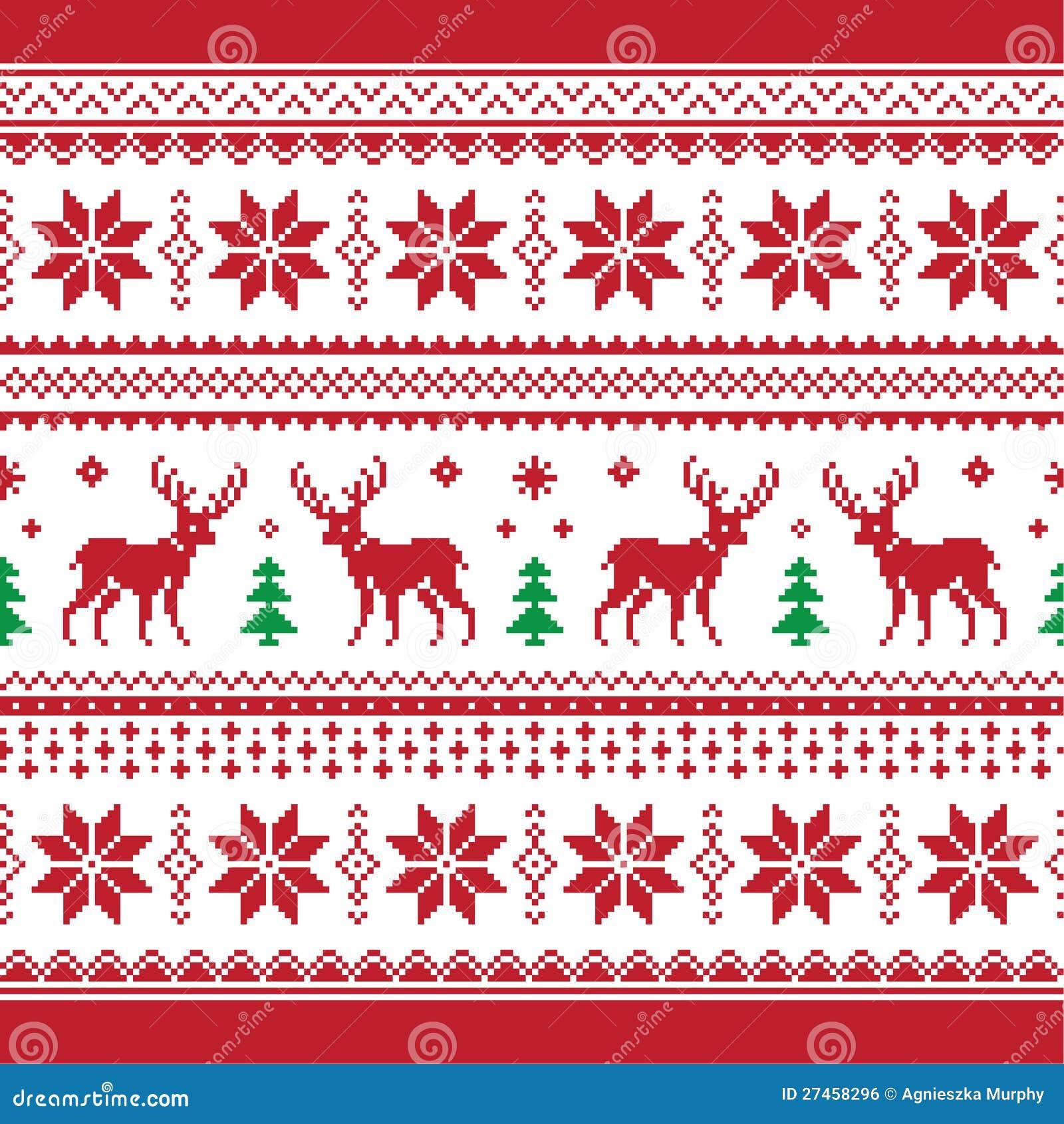 weihnachten und winter gestricktes nahtloses muster oder c. Black Bedroom Furniture Sets. Home Design Ideas