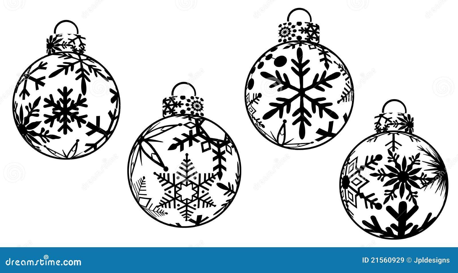 Weihnachten Verziert Clipart Stock Abbildung - Illustration von ...