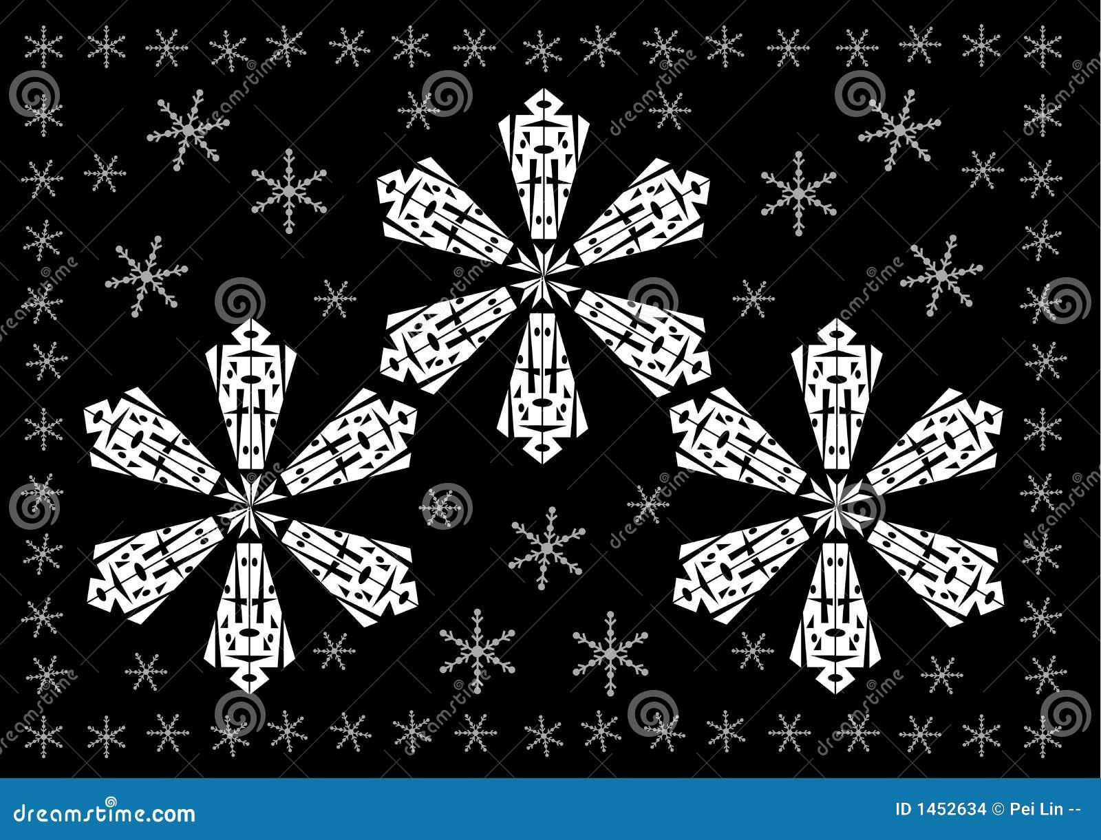 Weihnachten - Weißer Schnee Blättert Hintergrund Ab Vektor Abbildung ...