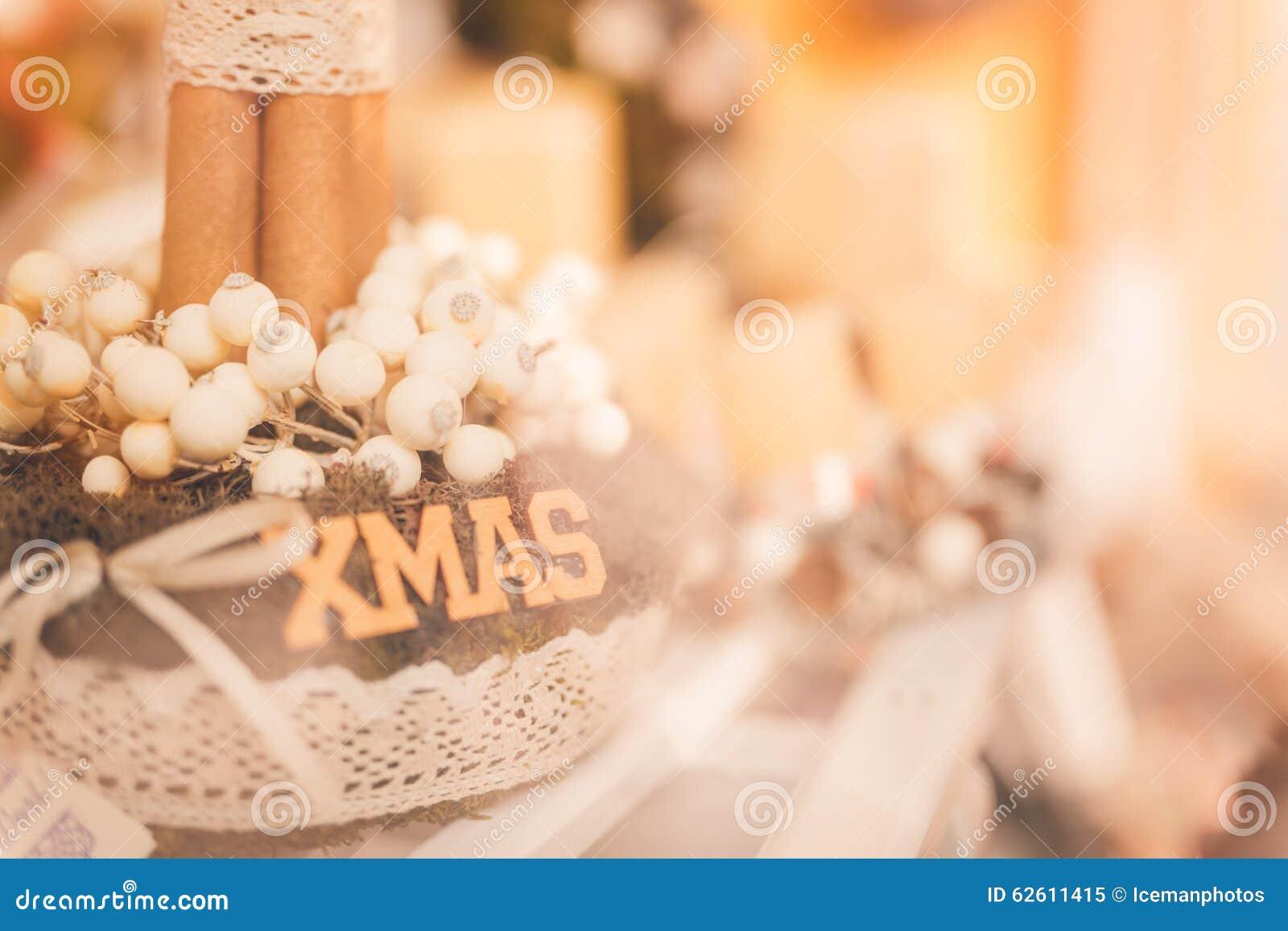 Weihnachten - Weihnachten-wreat warme Töne