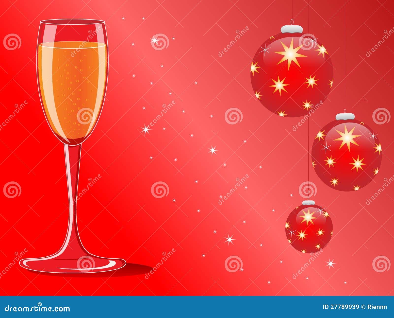 Weihnachts- und des neuen Jahreskarte