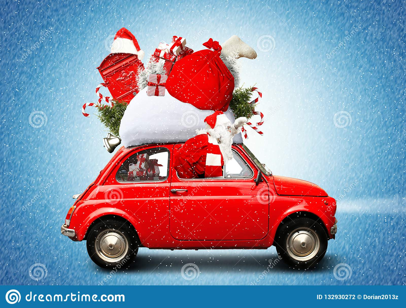 Weihnachtsauto