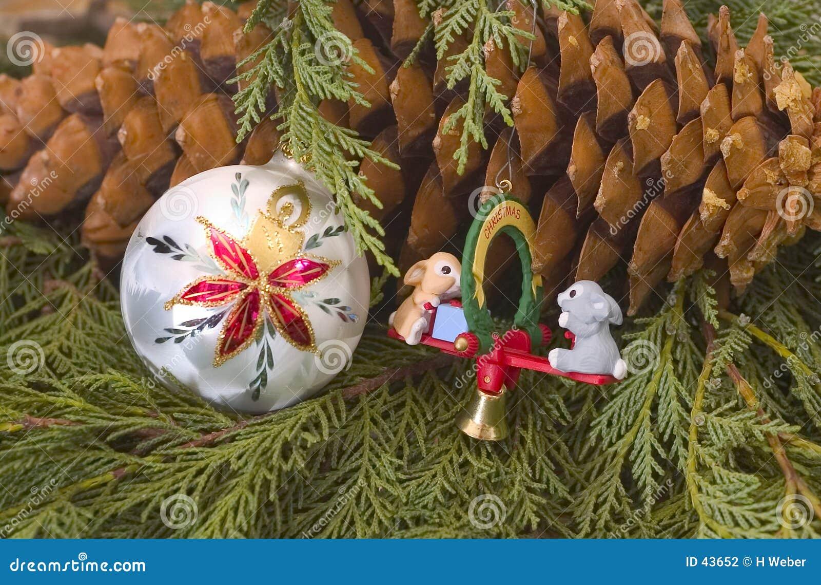 Download Weihnachtsbaum-Dekoration stockfoto. Bild von handmade, verzierungen - 43652