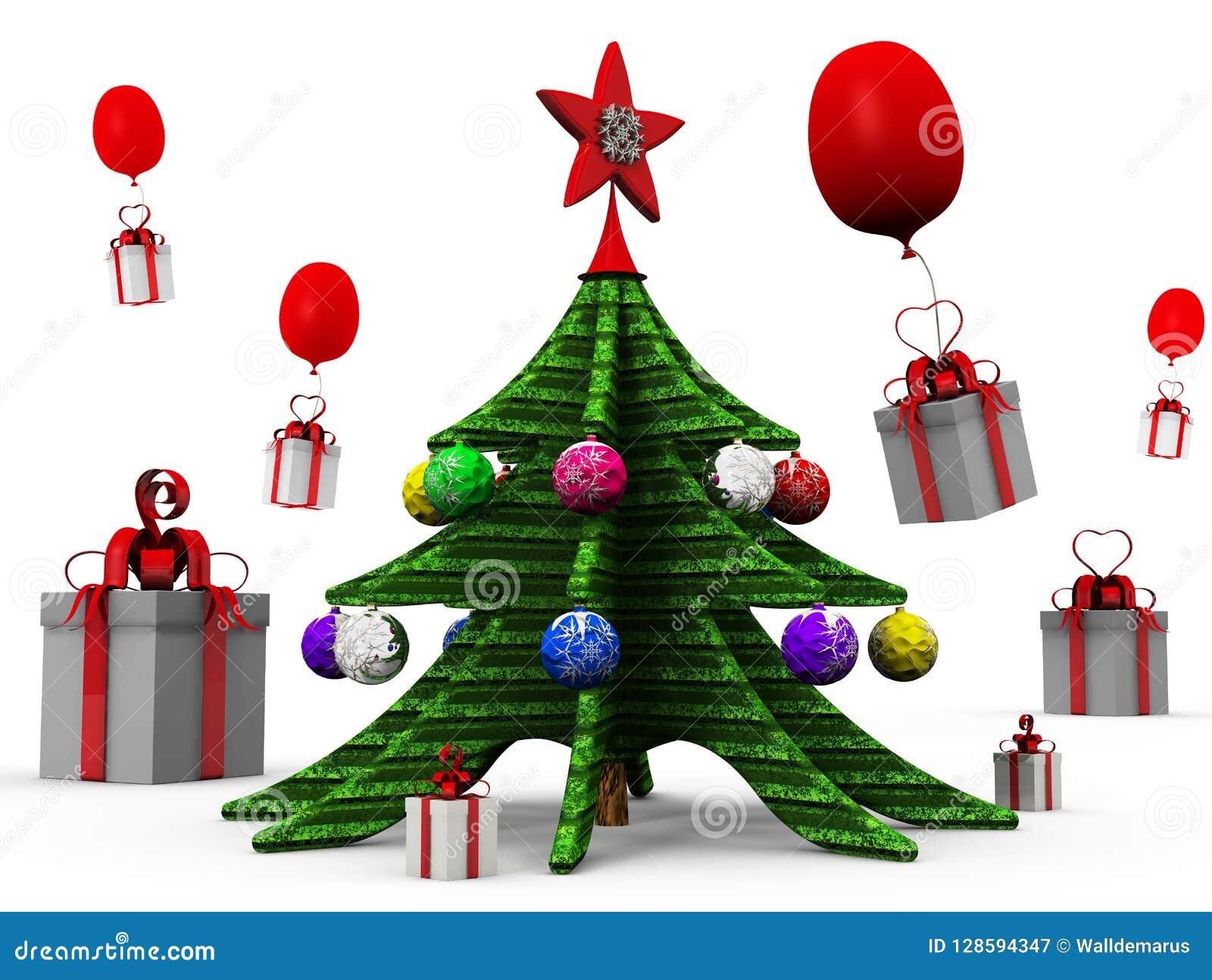 Symbol Weihnachtsbaum.Weihnachtsbaum Ist Ein Symbol Von Weihnachten Und Von Neuem Jahr