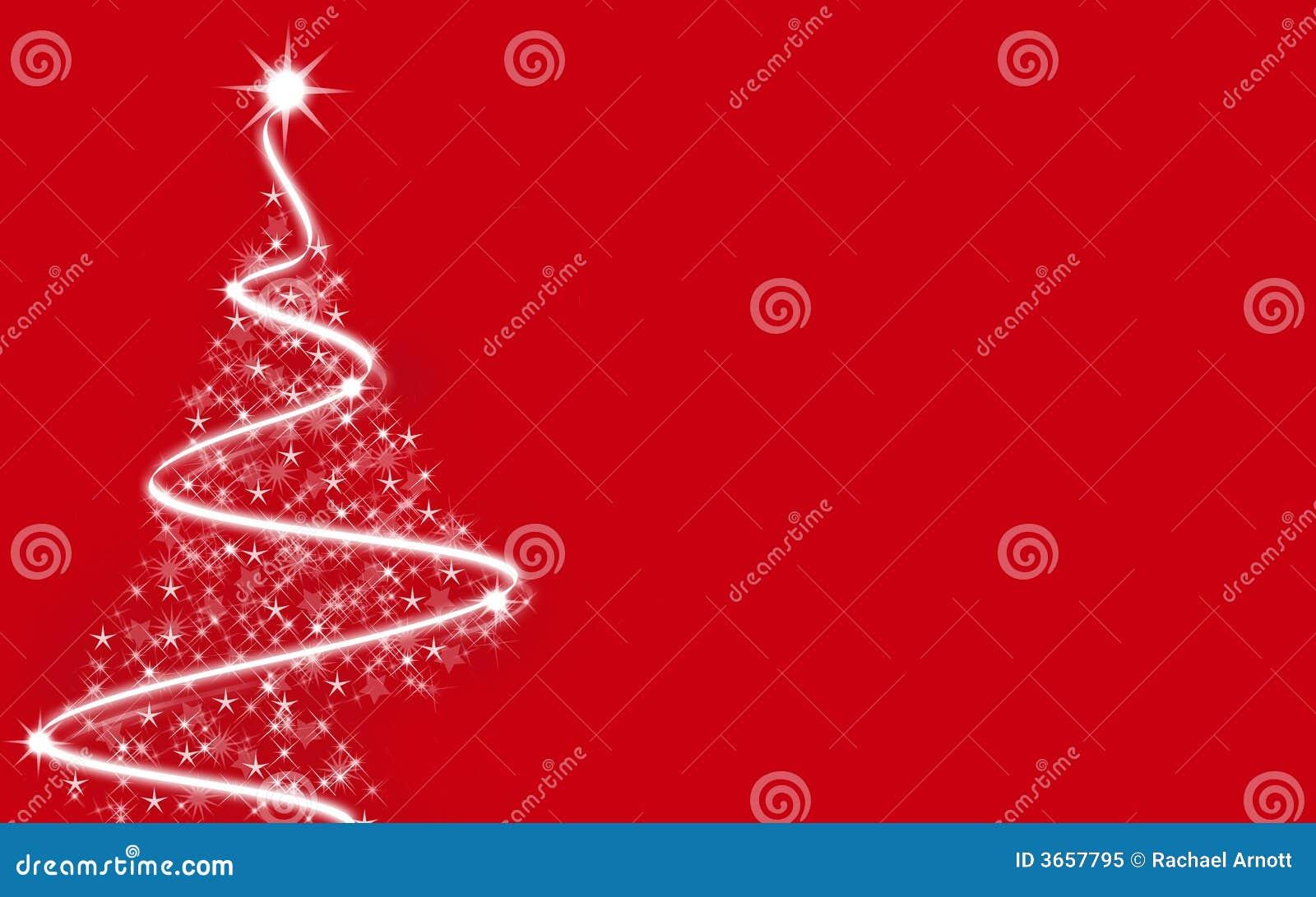 weihnachtsbaum rot stock abbildung illustration von. Black Bedroom Furniture Sets. Home Design Ideas
