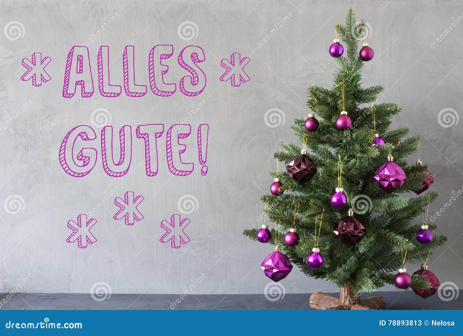 Weihnachtsbaum Der Guten Wünsche.Weihnachtsbaum Zement Wand Alles Gute Bedeutet Beste Wünsche