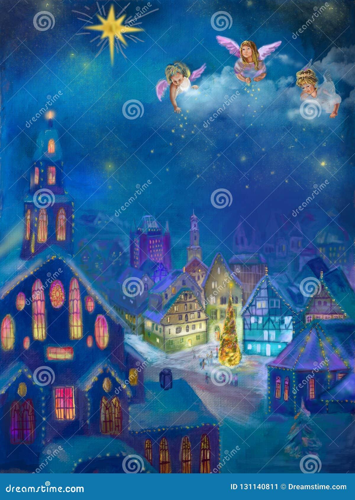Weihnachtsbilder Kamin.Weihnachtsbilder Von Einem Kleinen Dorf Im Mountainsmusik