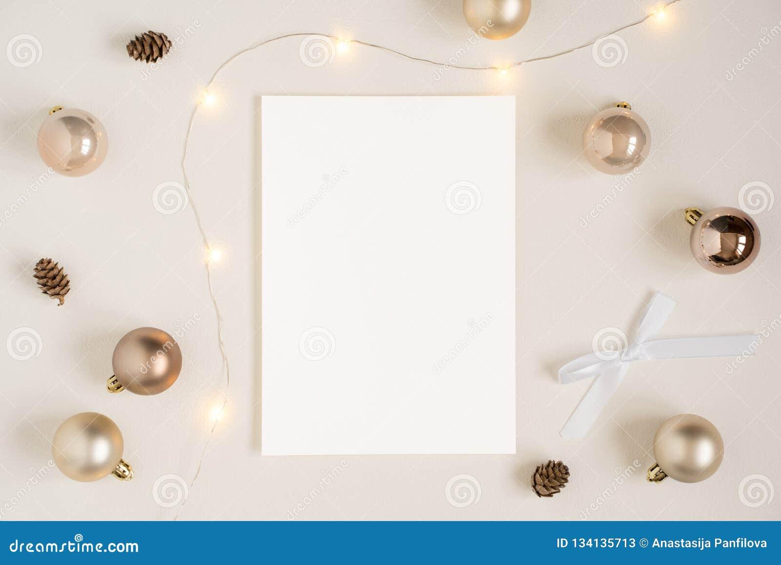 Weihnachtsbriefpapiermodell