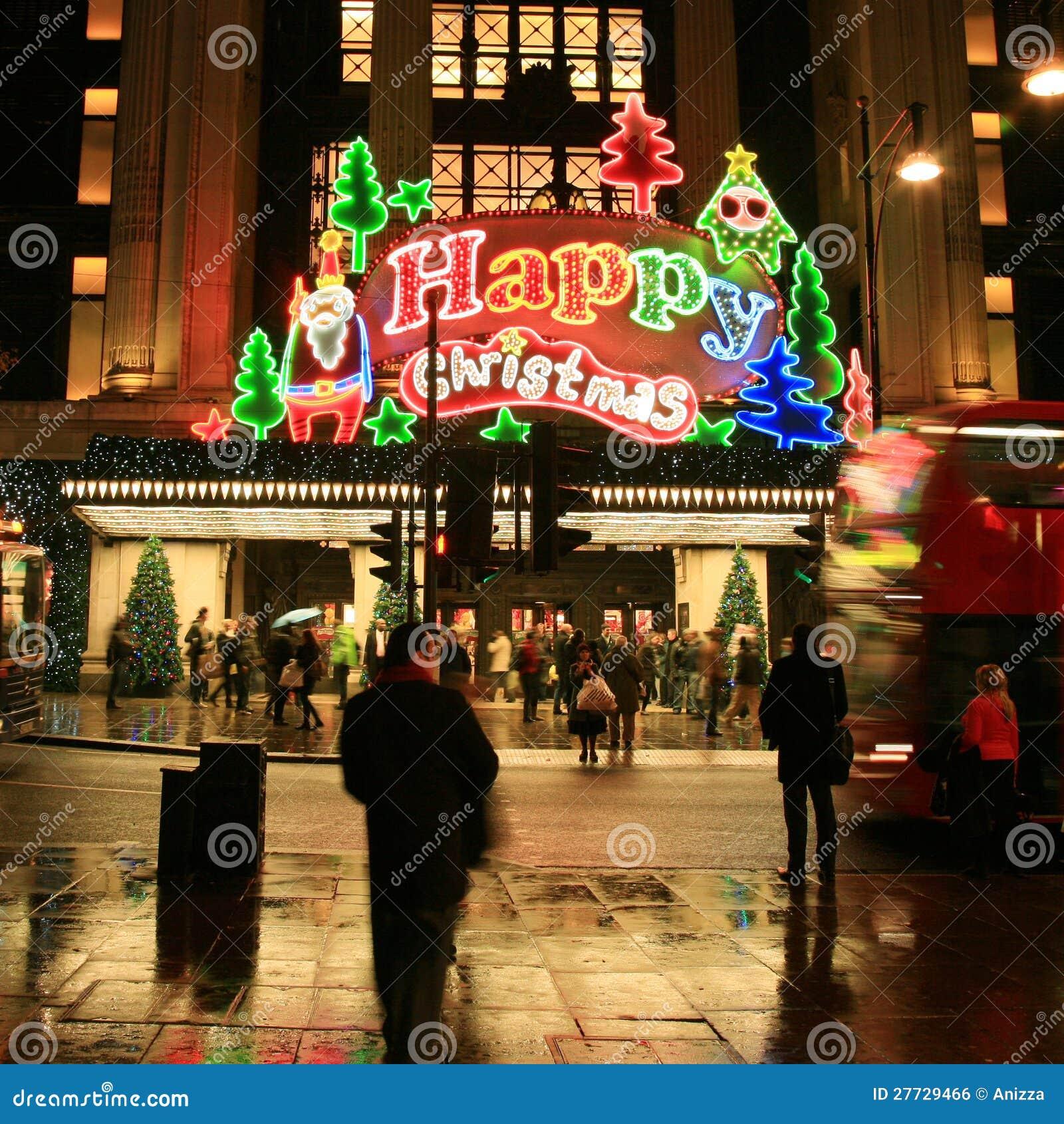 Weihnachtsdekoration in London