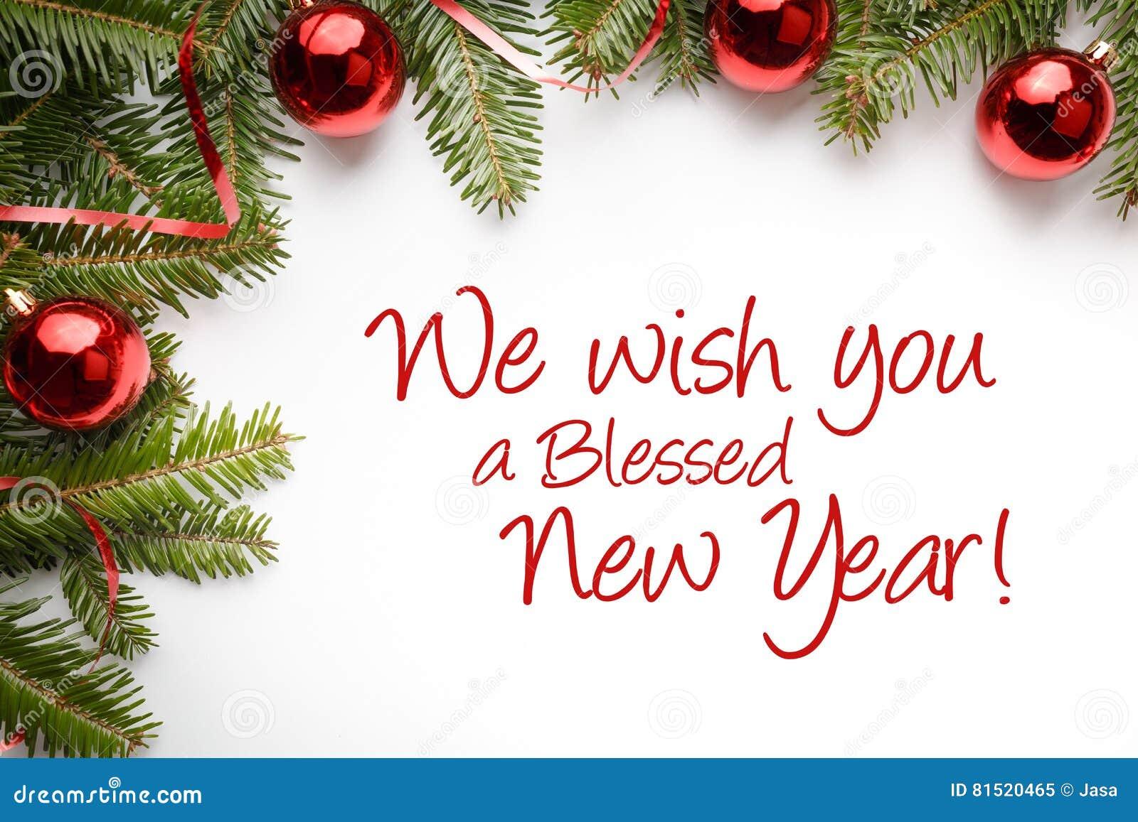 Weihnachtsdekorationen Mit Dem Gruß ` Wünschen Wir Ihnen Ein ...