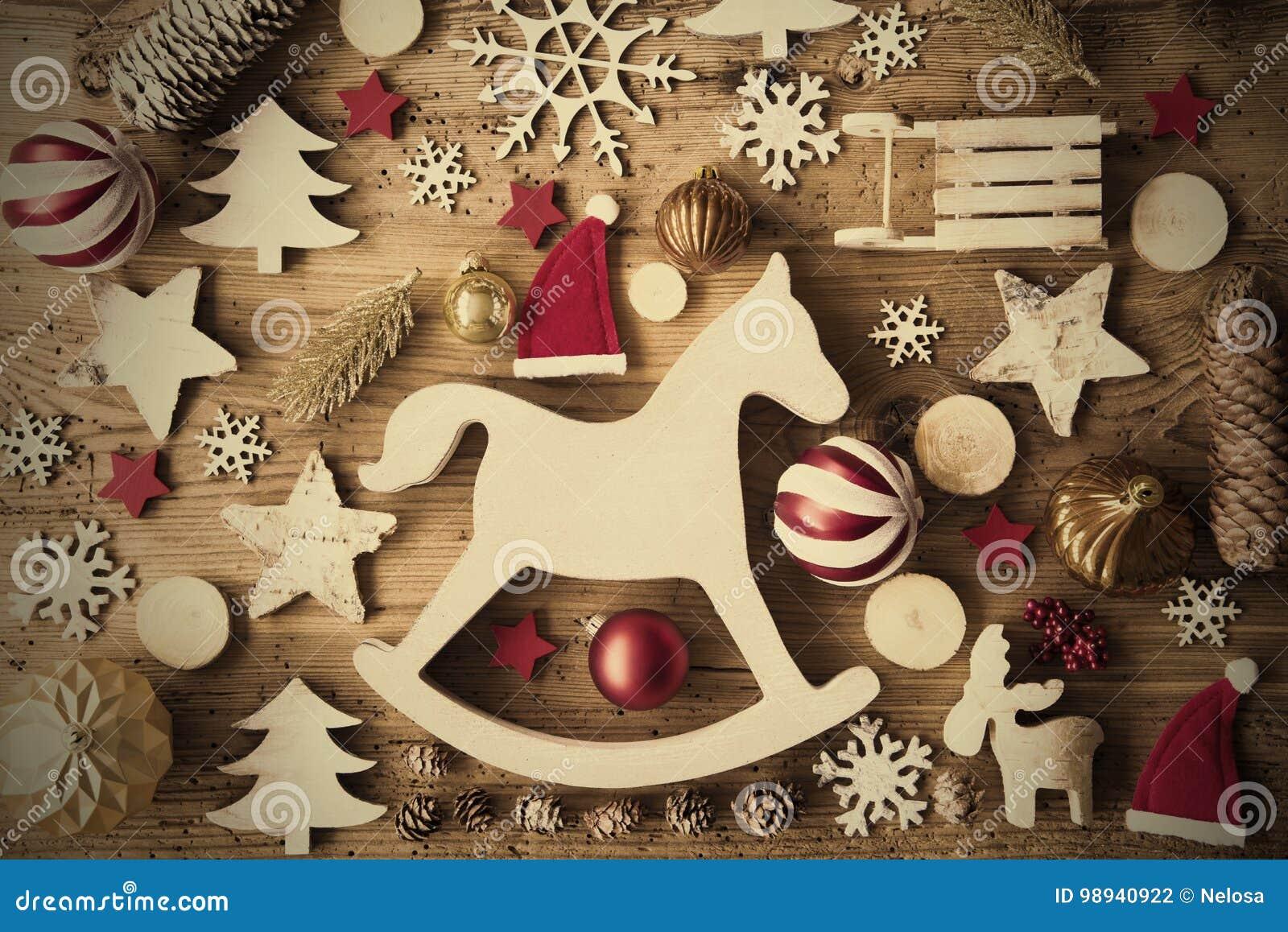 Weihnachtsebenen-Lage, Instagram-Filter, Rahmen Stockfoto - Bild von ...