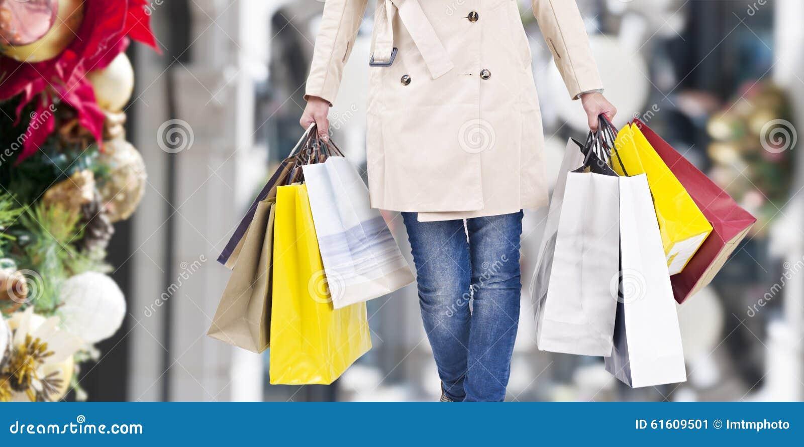 Weihnachtseinkaufen, Idee für Ihre Auslegung