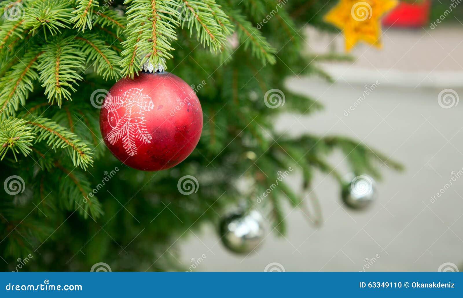 Weihnachtsfeier Dekoration.Weihnachtsfeier Dekoration Und Baum Stockfoto Bild Von Verzierung