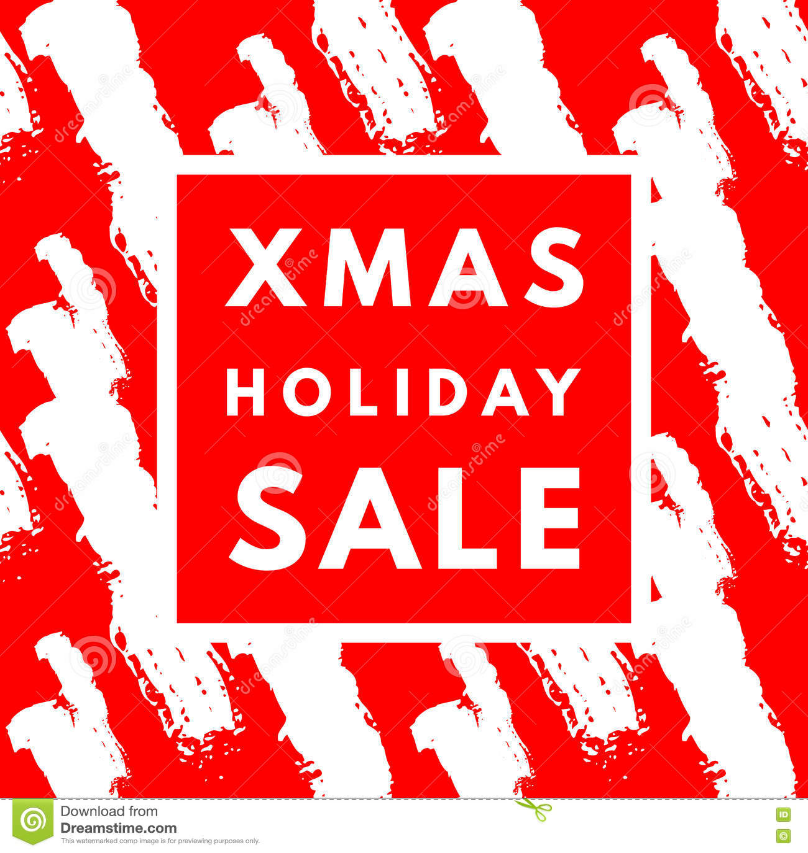 Weihnachtsfeiertags-Verkaufsplakat