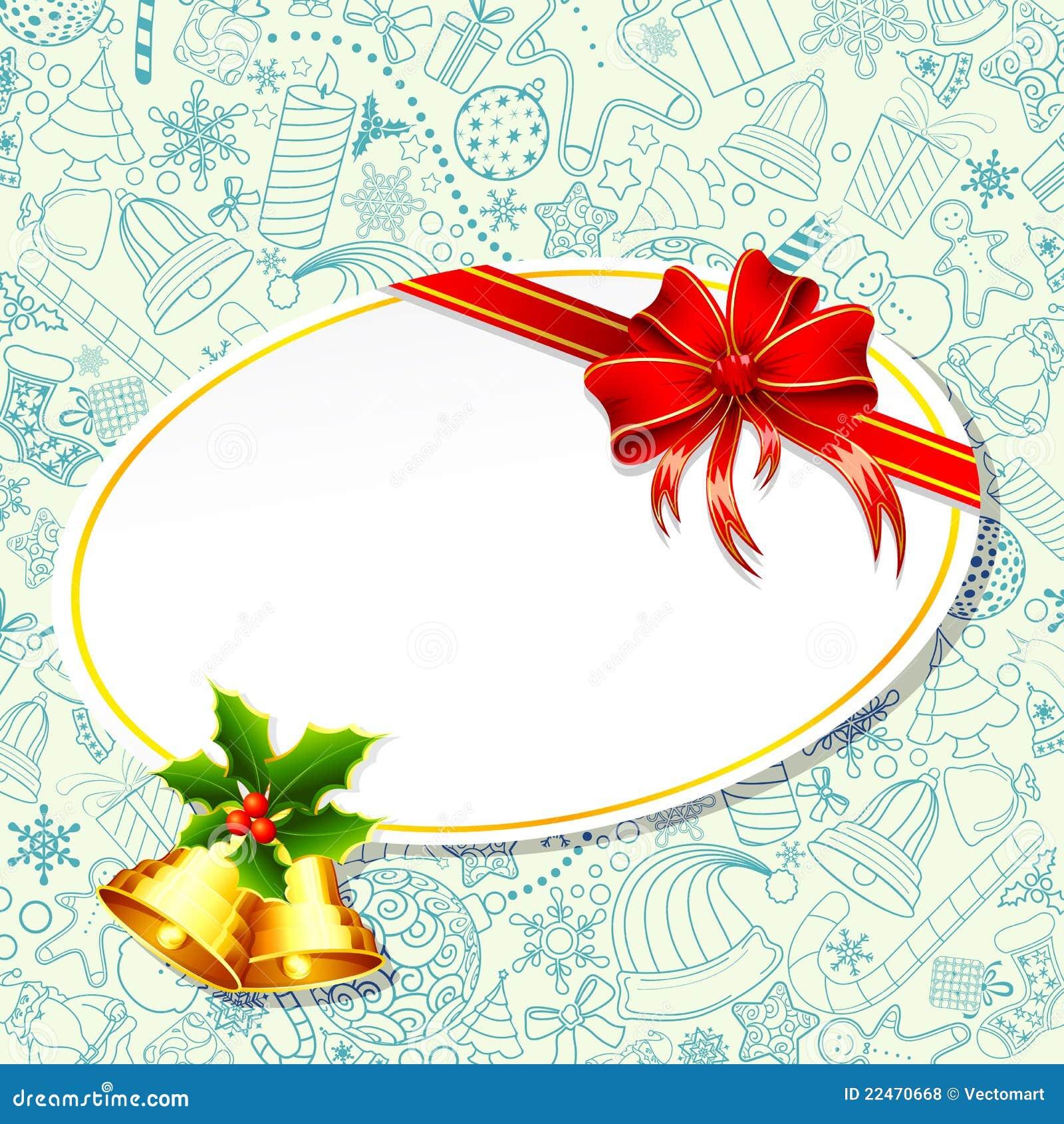 Weihnachtsgeschenk-Karte vektor abbildung. Illustration von geschenk ...