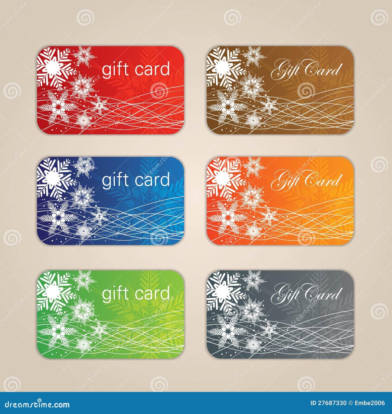 Weihnachtsgeschenk-Karte vektor abbildung. Illustration von rand ...