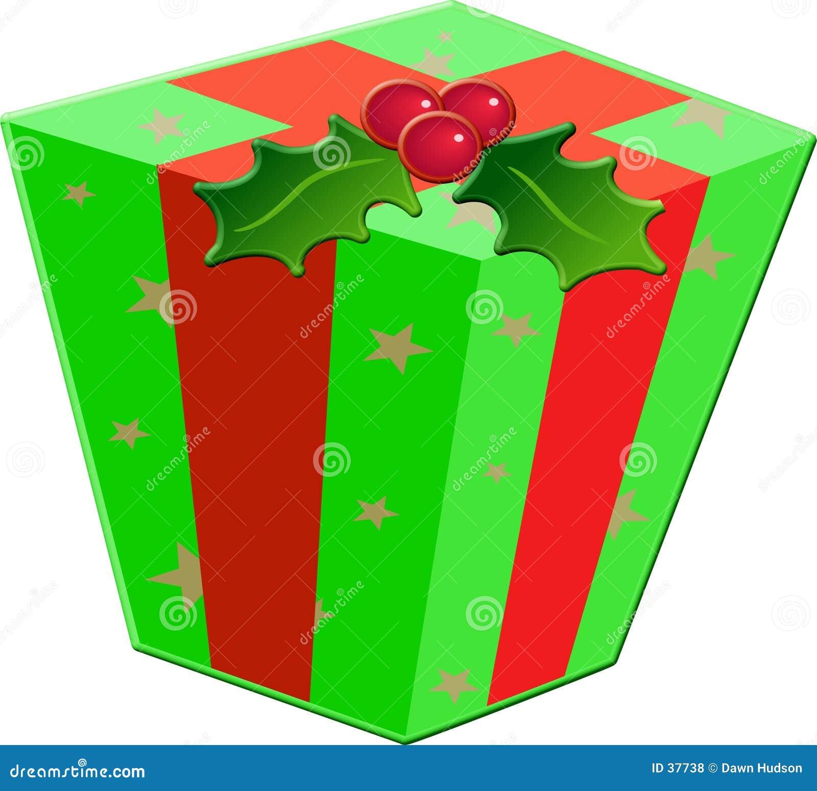 Weihnachtsgeschenk-Kasten