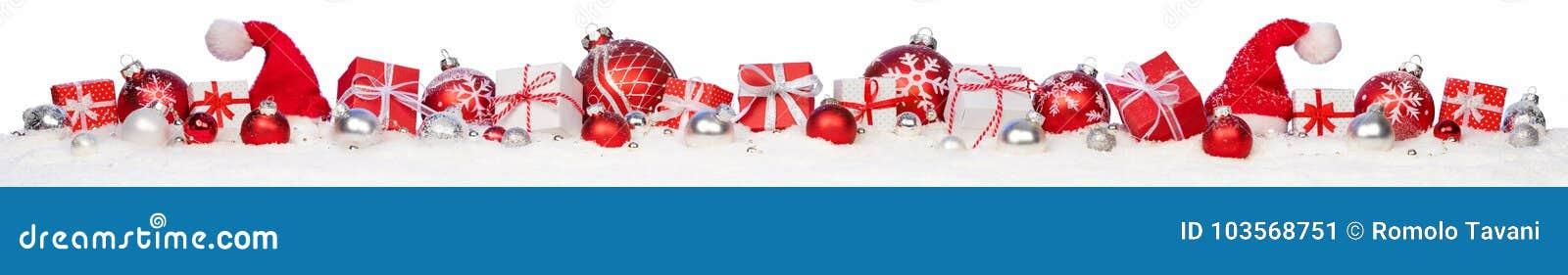 Weihnachtsgeschenke und -flitter