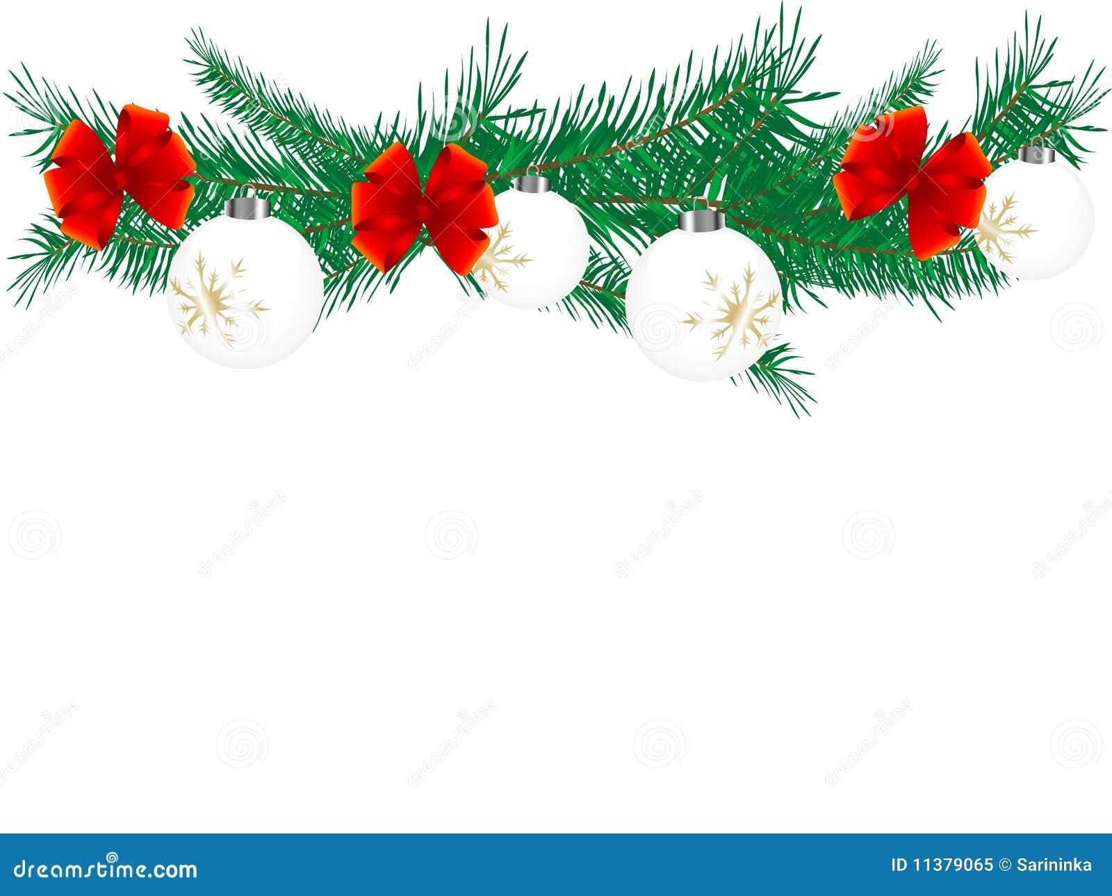 weihnachtsgirlande lizenzfreies stockfoto bild 11379065. Black Bedroom Furniture Sets. Home Design Ideas