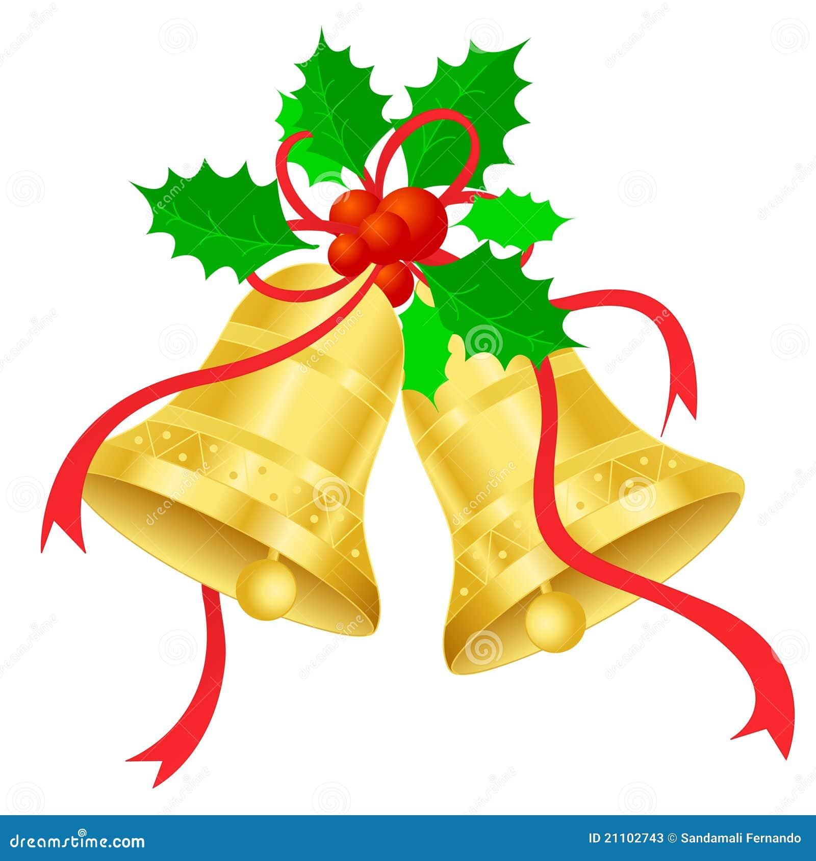 Weihnachtsglocken Stockfotos - Bild: 21102743