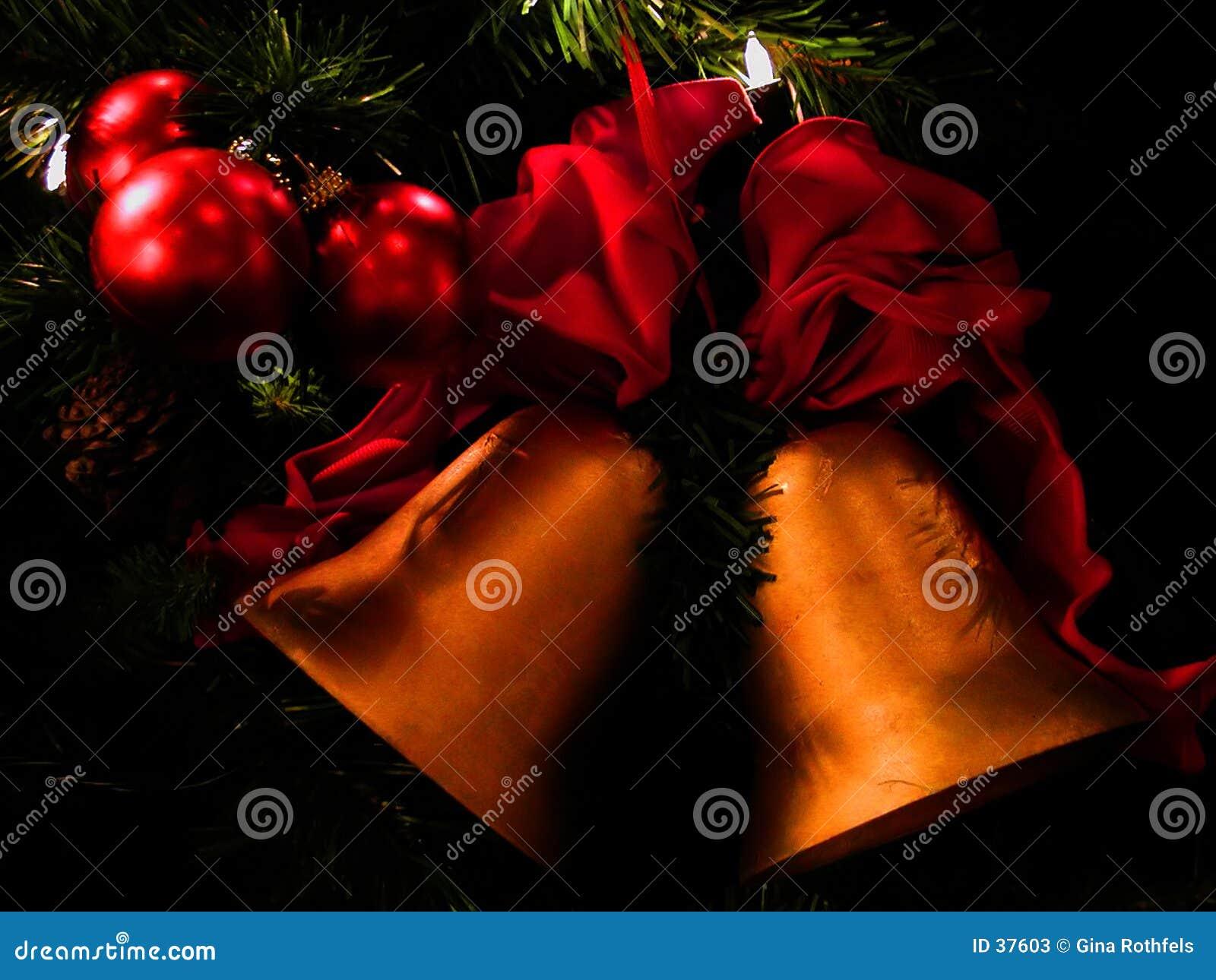 Download Weihnachtsglocken stockbild. Bild von feiertage, saisonal - 37603
