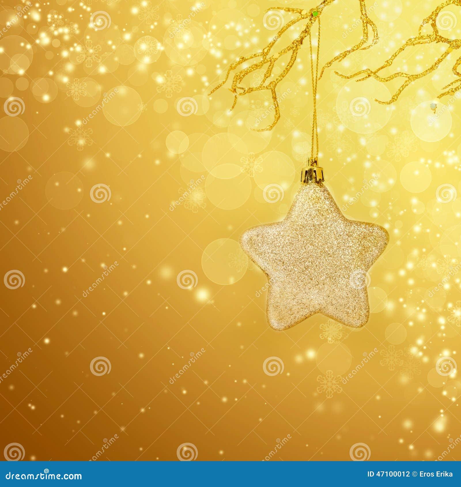 Weihnachtshintergrund mit Nahaufnahme auf Dekorationen