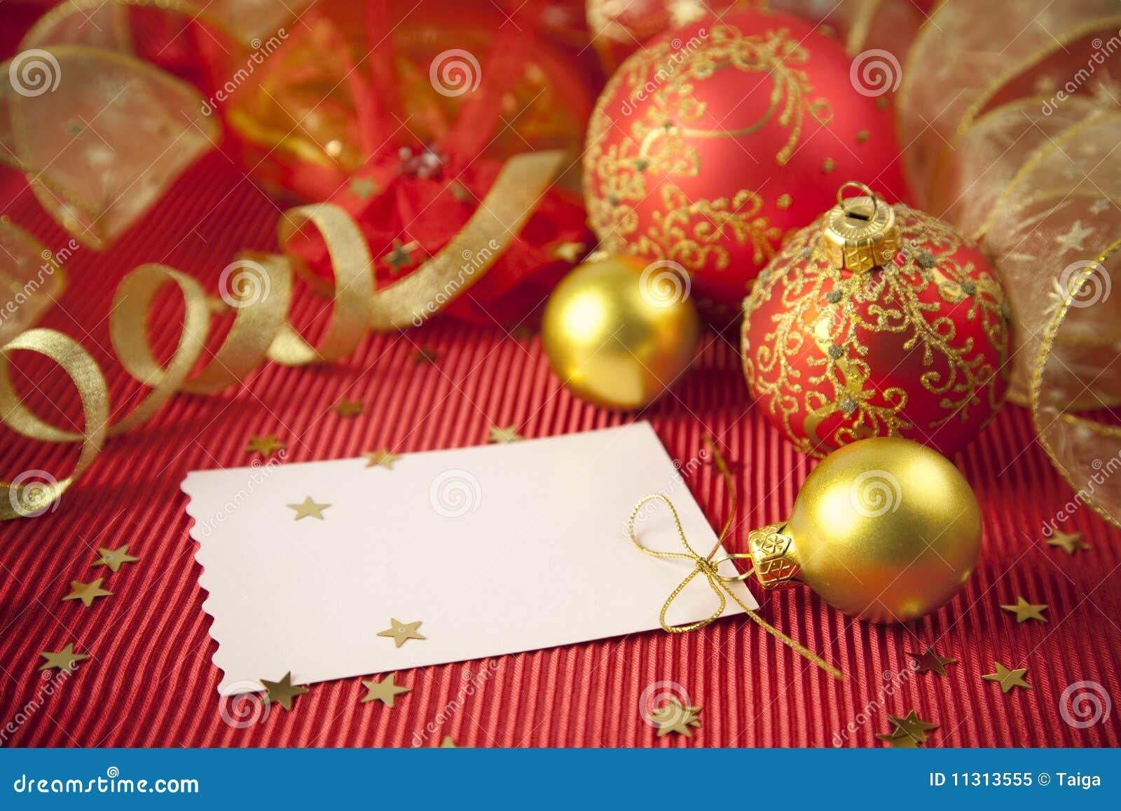 Weihnachtskarten/mit Exemplarplatz
