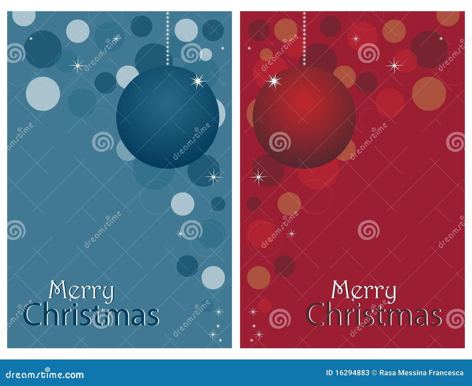 weihnachtskarten set vektor abbildung illustration von. Black Bedroom Furniture Sets. Home Design Ideas