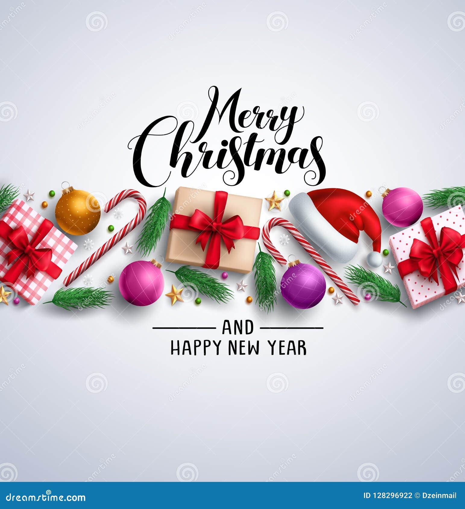 Weihnachtskarten Einladung.Weihnachtskarten Vektorfahne Mit Grußtext Der Frohen Weihnachten