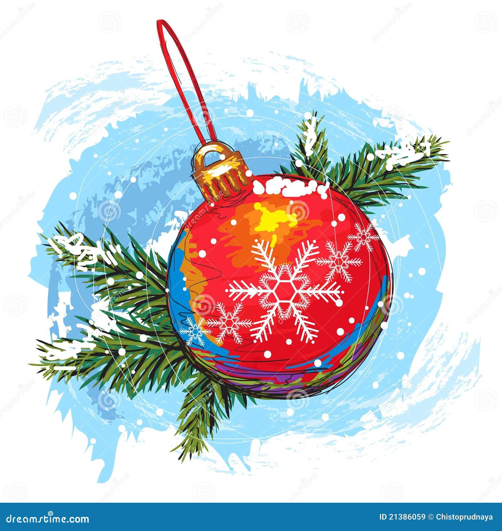 Weihnachtskugel vektor abbildung bild von bunt aufbau for Weihnachtskugeln bilder