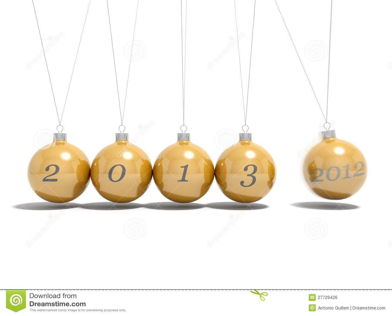 Weihnachtskugel-Silvesterabend 2012 - 2013
