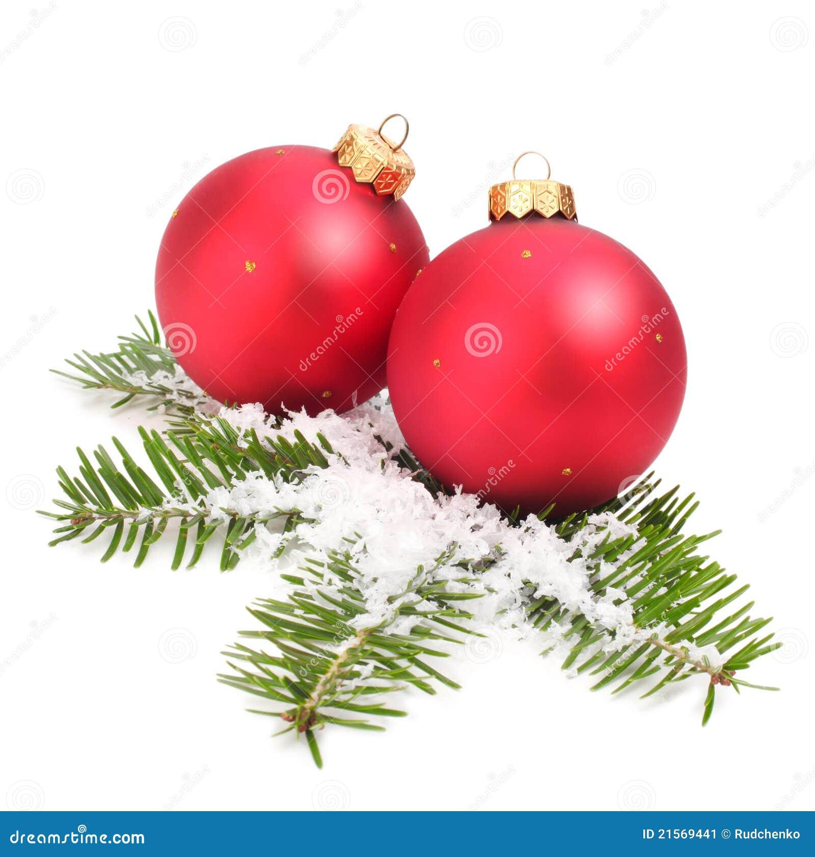 weihnachtskugel und gezierter zweig stockbild bild von gr n verzierung 21569441. Black Bedroom Furniture Sets. Home Design Ideas