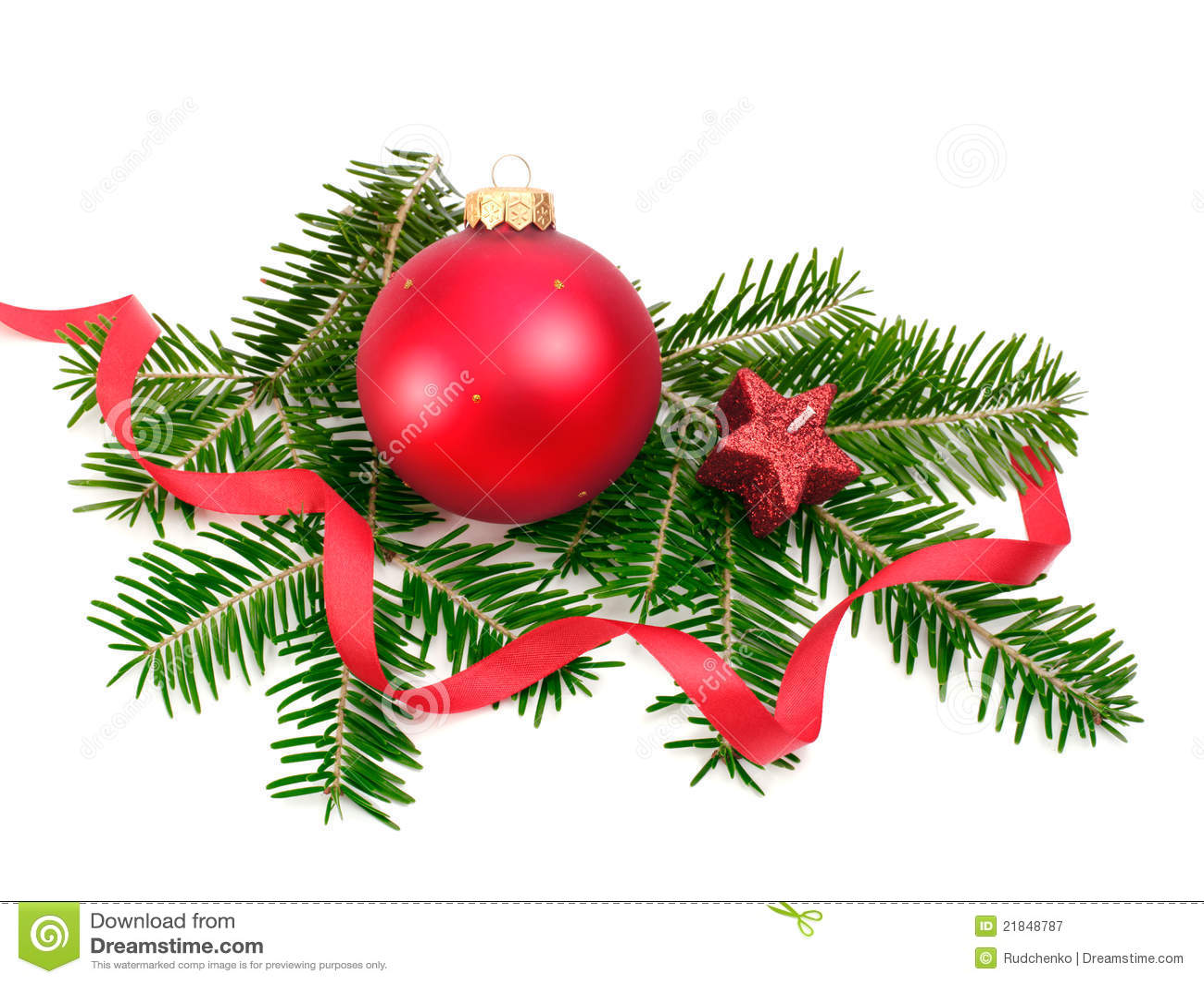 weihnachtskugel und gezierter zweig stockbild bild von dekoration tradition 21848787. Black Bedroom Furniture Sets. Home Design Ideas