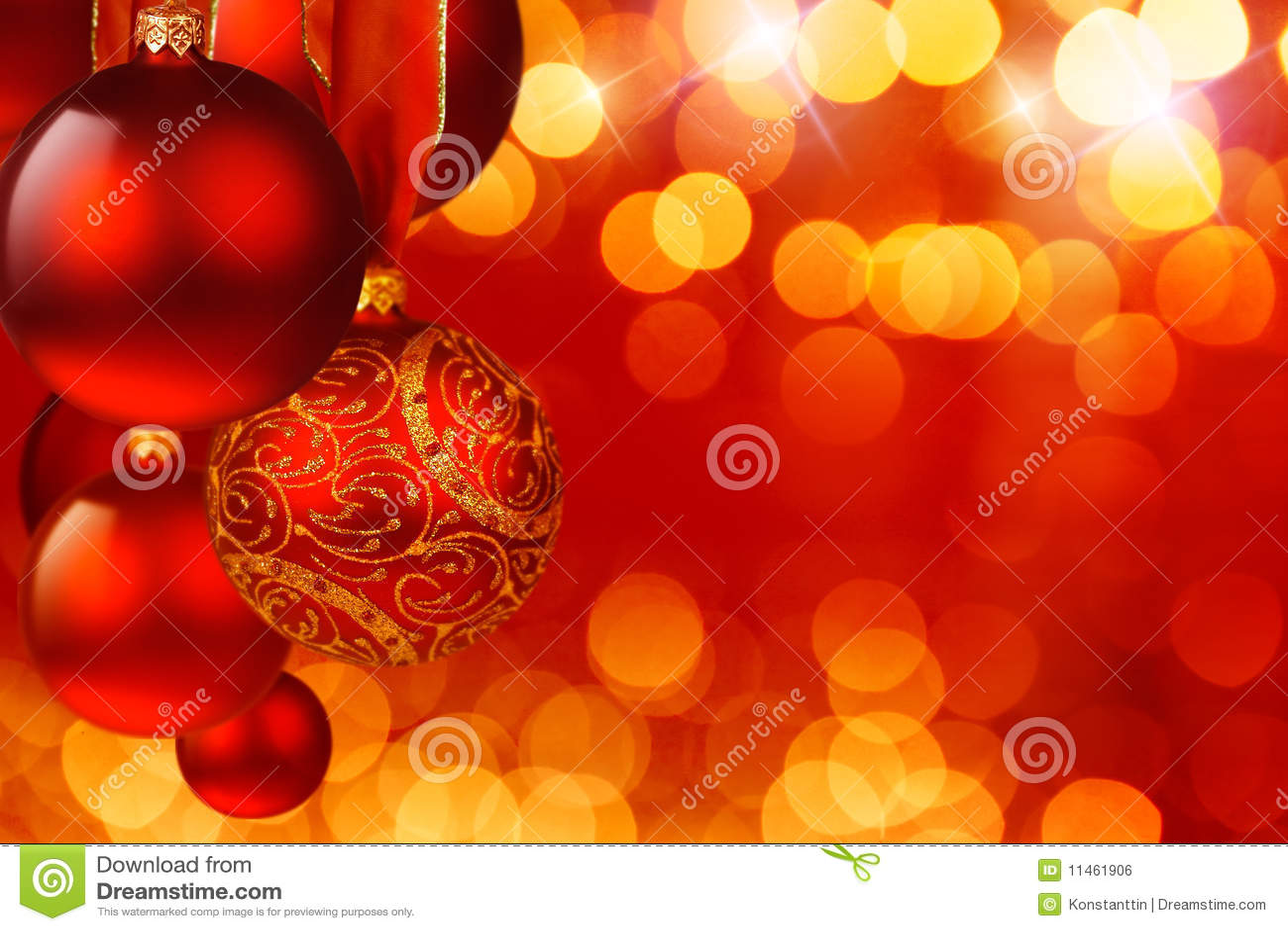 weihnachtskugeln lizenzfreies stockbild bild 11461906. Black Bedroom Furniture Sets. Home Design Ideas