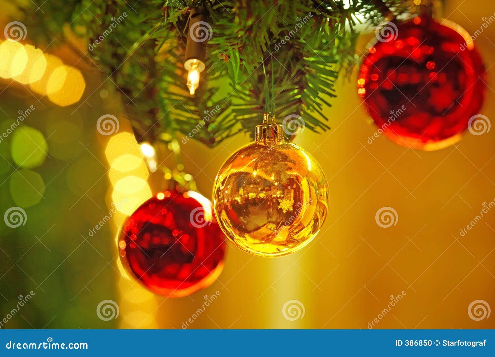 Χριστούγεννα σφαιρών weihnachtskugeln