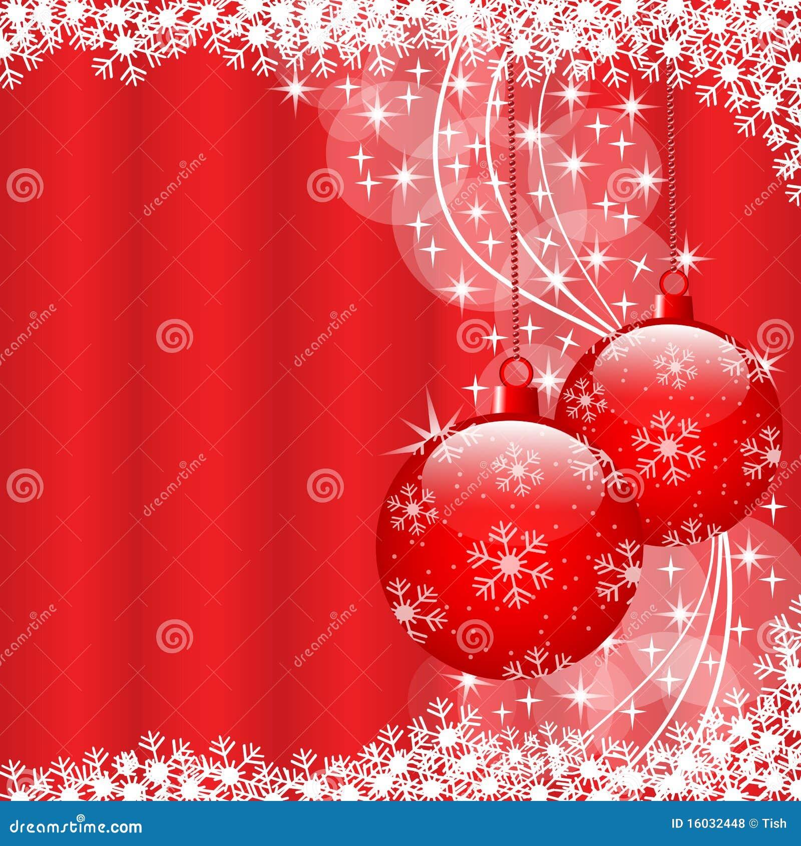 weihnachtskugeln rot lizenzfreie stockfotos bild 16032448. Black Bedroom Furniture Sets. Home Design Ideas