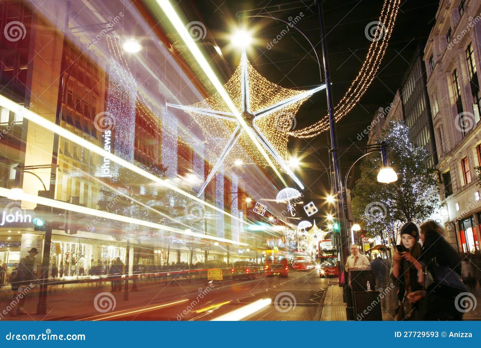 Weihnachtsleuchten in London