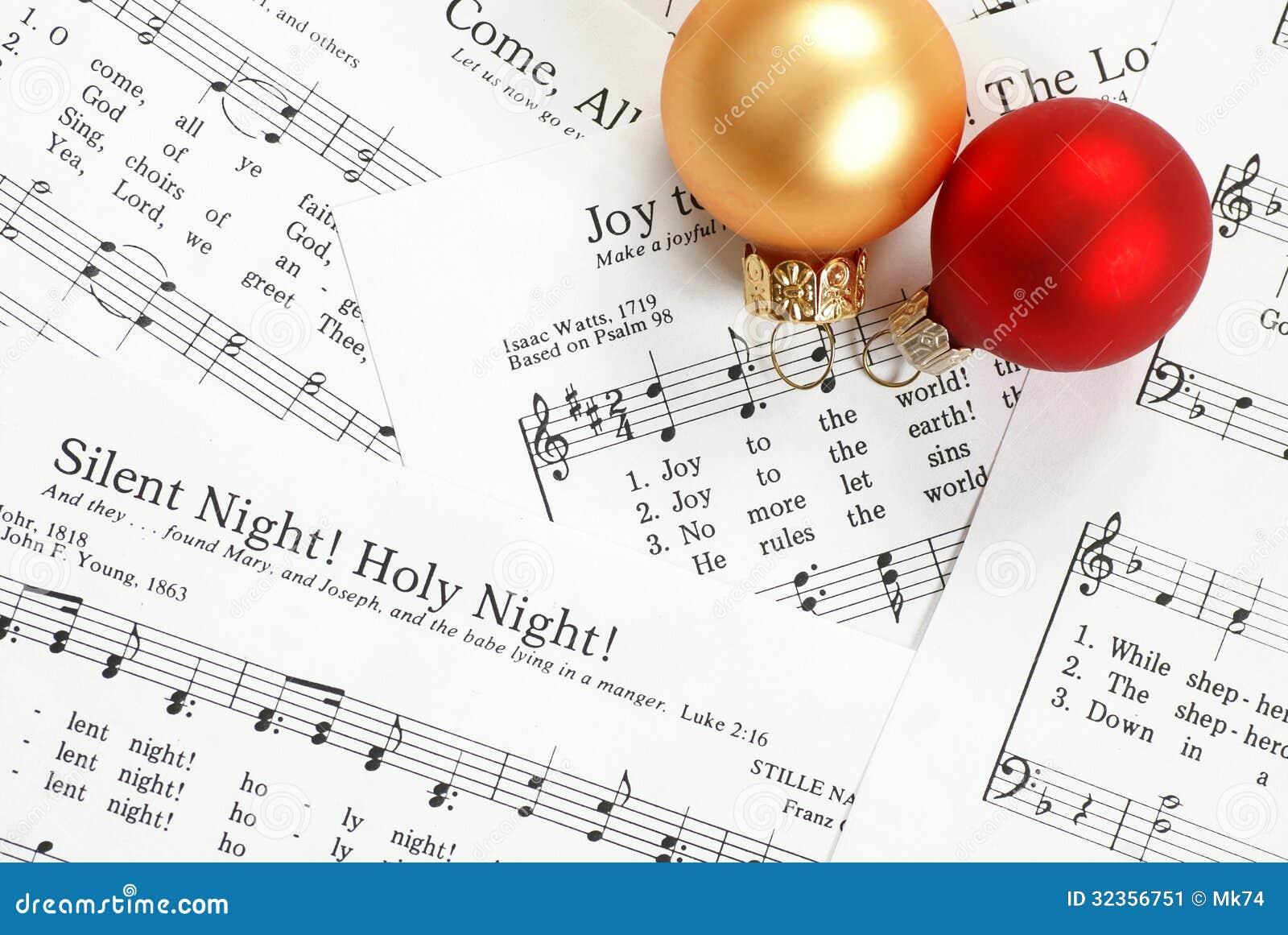Weihnachtslied stockbild. Bild von lied, musikalisch - 32356751
