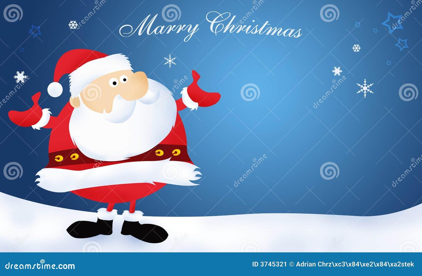 Weihnachtsmann Heiraten Weihnachten Stock Abbildung - Illustration ...