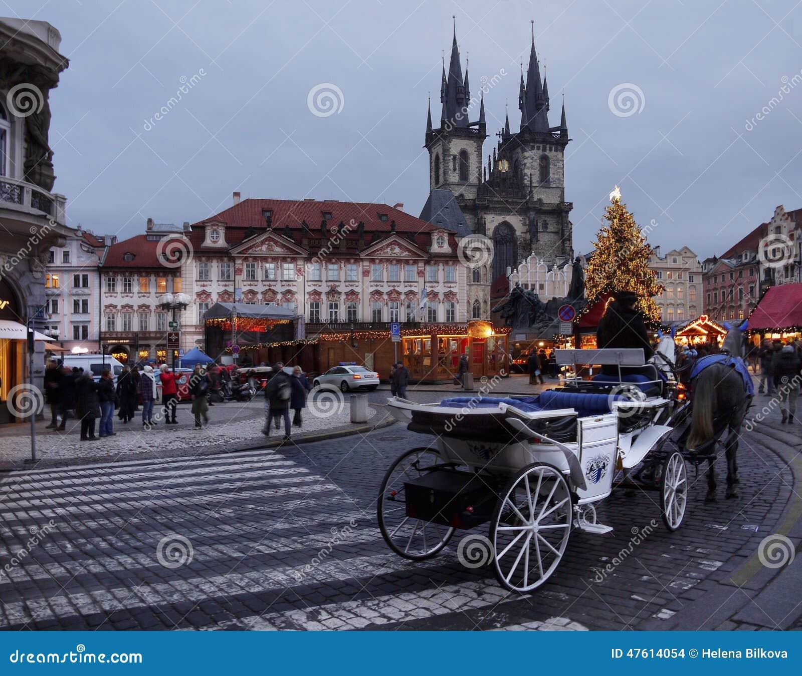 Weihnachtsmarkt, Prag