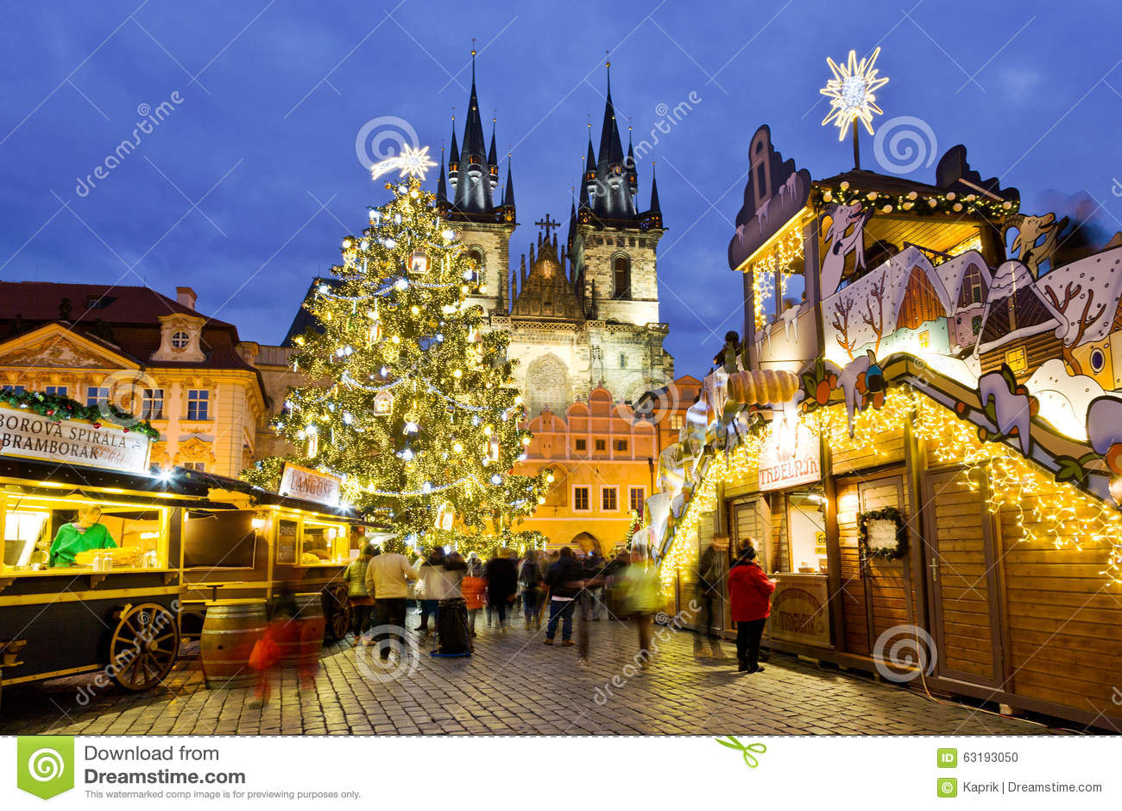 weihnachtsmarkt in prag unesco tschechische republik. Black Bedroom Furniture Sets. Home Design Ideas