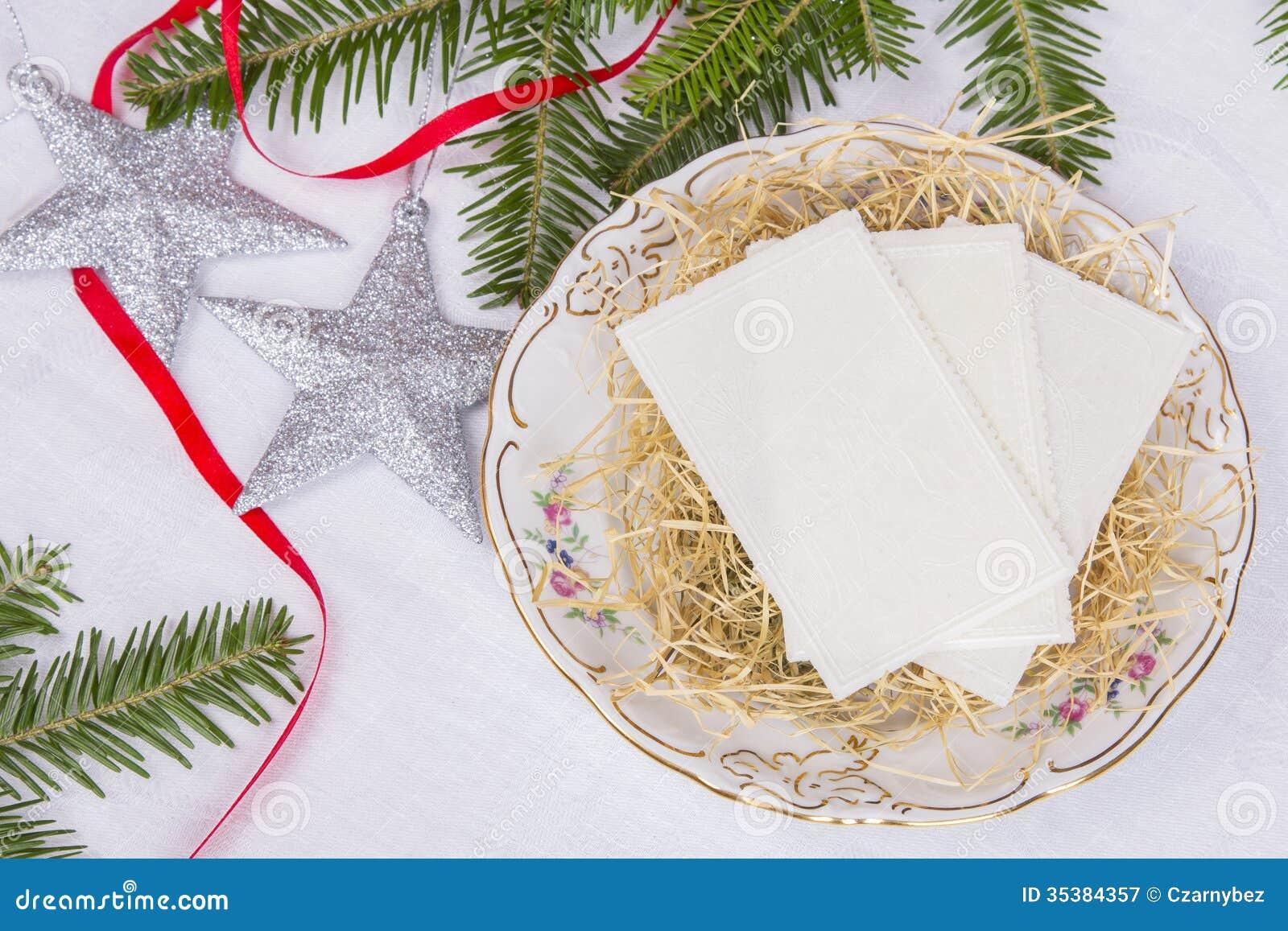weihnachtsoblate lizenzfreie stockfotografie bild 35384357. Black Bedroom Furniture Sets. Home Design Ideas