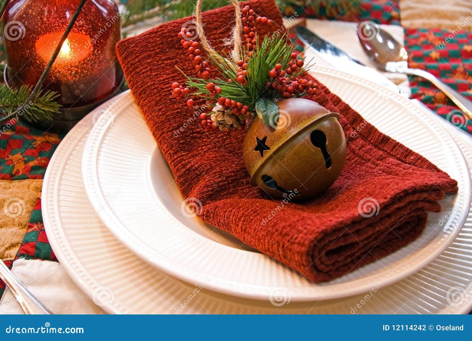 Weihnachtsplatz-Einstellung